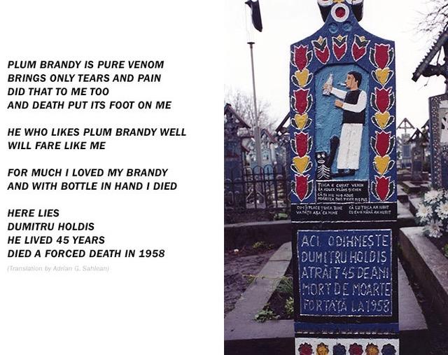 """Romania's """"Merry Cemetery"""""""