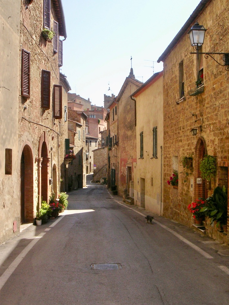Downtown Monisi, Italy Picture by author Ian Kent