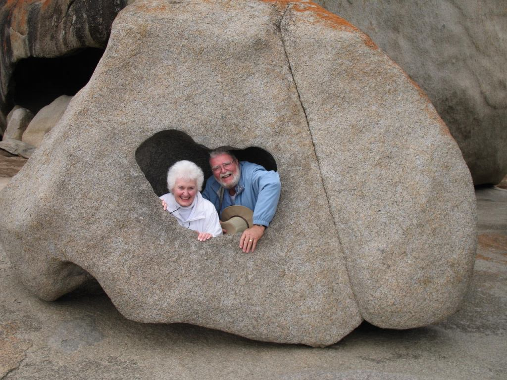 Diana & I in a Remarkable Rock - author Ian Kent