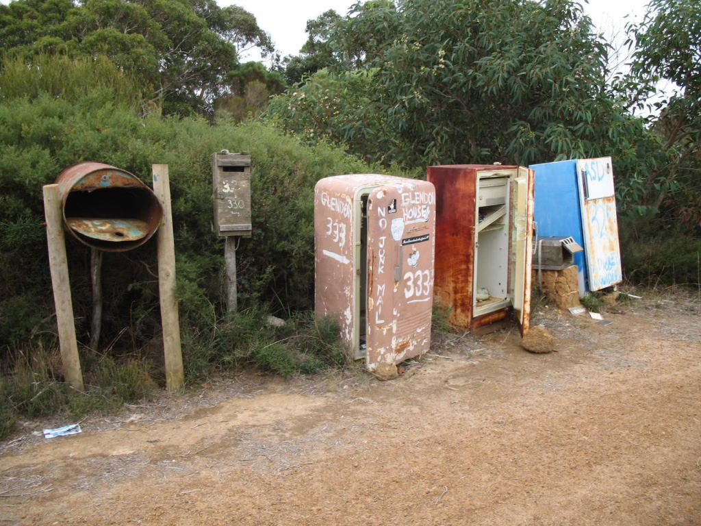 Local Mail Boxes - Author Ian Kent