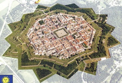 "The city of Neuf-Brisach ""Une étoile au cœur de l'Alsace""  (A star in the heart of Alsace) from Author Ian Kent"