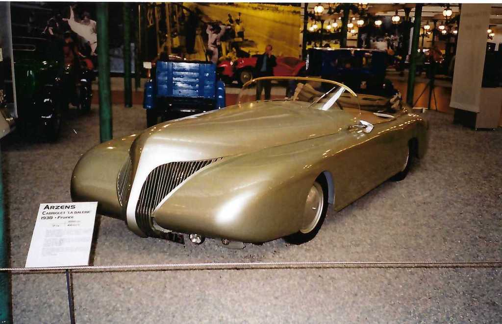 1938 Arzens from Author Ian Kent