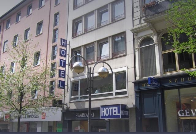 Author Ian Kent shares a picture of Hotel Neue Kräme (on the pedestrian street Neue Kräme)