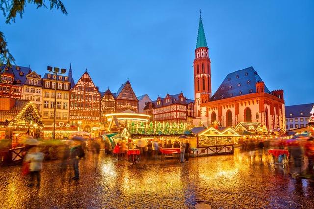 Author Ian Kent shares photo of Römerberg Christmas Market