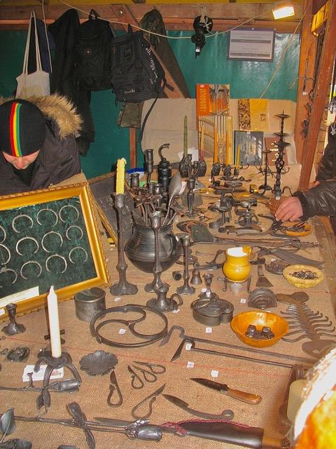 Blacksmith's art shared by Author Ian Kent