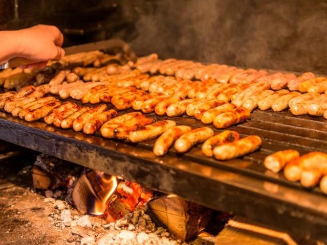 Bratwurst on the 'barby' from Author Ian Kent