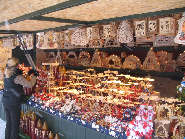 European Christmas decorations from Author Ian Kent