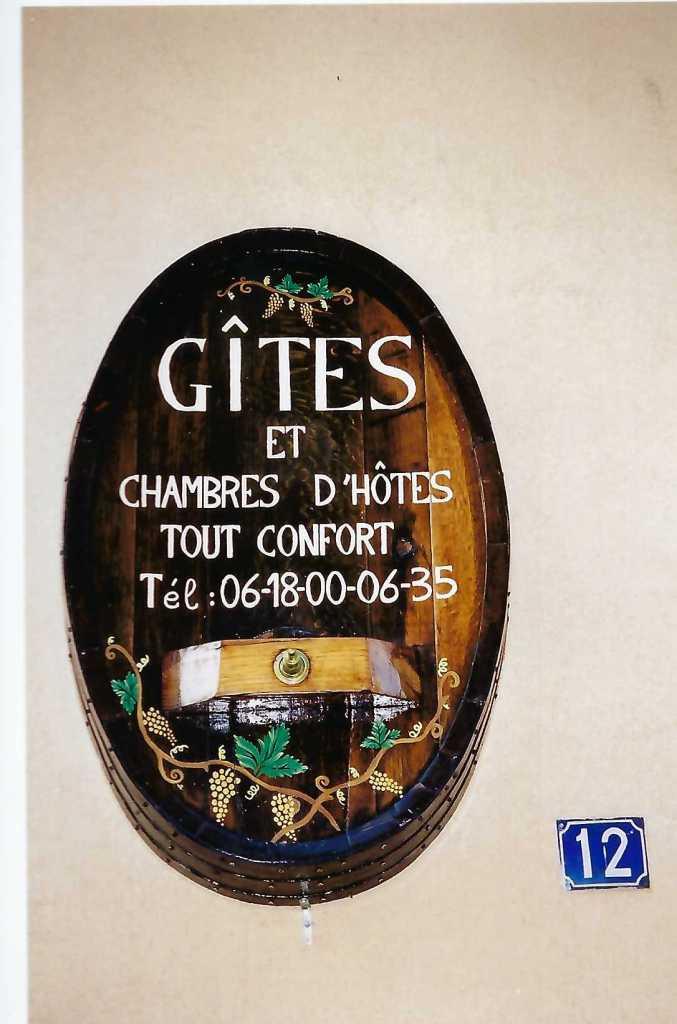 Gites (B&B) from Author Ian Kent