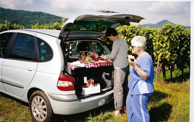 Picnic in the vineyard from Ian Kent Author