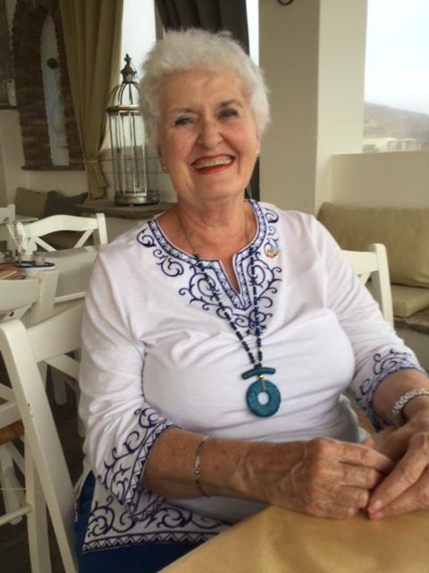 Diana, my Greek 'wannabe' Author Ian Kent