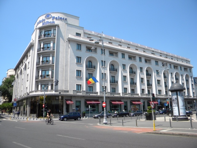 Athénée Palace Hilton Hotel from Author Ian Kent