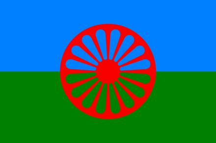Romani Flag Author Ian Kent
