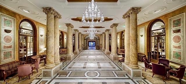 Athénée Palace Lobby from Author Ian Kent