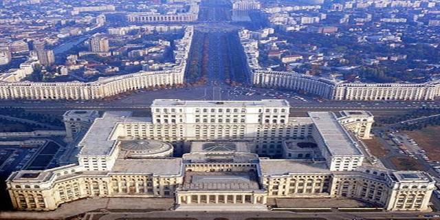 Ceaucescu's 'Palace' from Author Ian Kent