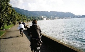 Bodensee's easy bike path from Author Ian Kent