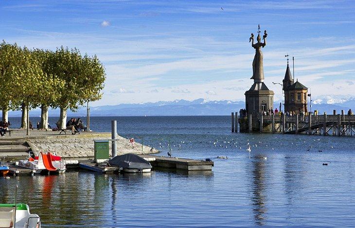 Konstanz Harbour from Author Ian Kent