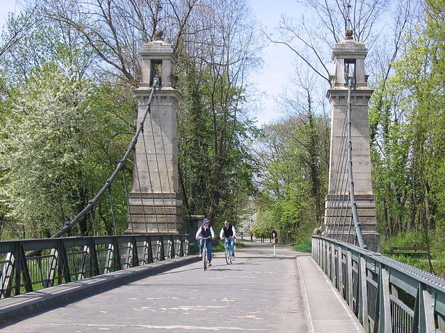 Älteste Kabelhängebrücke Deutschlands from Author Ian Kent
