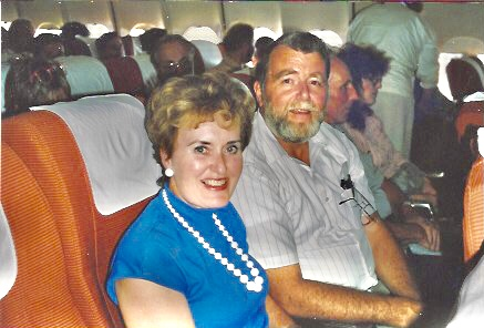 A much younger couple on their way! from Author Ian Kent