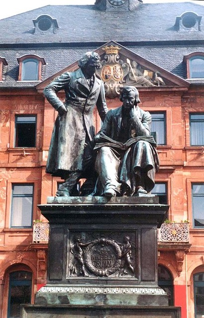 The Brothers Grimm memorial in Hanau from Author Ian Kent